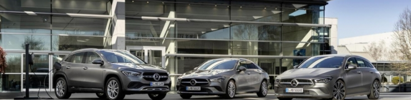 Nuevos CLA 250 e Coupé y CLA 250 e 300 Shooting Brake