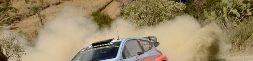 Hyundai Shell World Rally Team consigue el primer podio en el Rally de Méjico