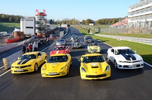 EXOTIC CHEVROLET LINE-UP SUPPORTS BEAUJOLAIS RUN