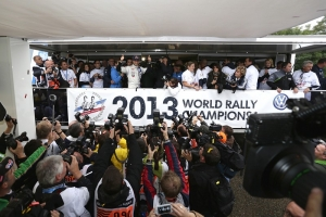 Volkswagen are World Champions* – manufacturers' title following one-two victory in Spain